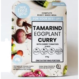 Photo of Tamarind Eggplant Curry Cherry Toms 375g
