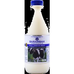 Photo of Barambah Organics Full Cream Milk 1L