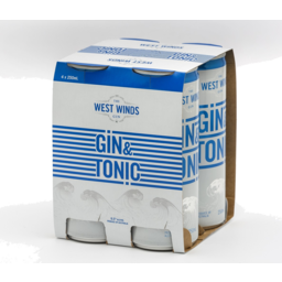 Photo of West Winds Gin & Tonic Cans