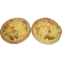 Photo of Apple Crumble Tarts 2 Pack