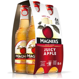 Photo of Magners Cider Juicy Apple 4 Pack