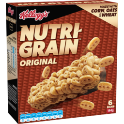 Photo of Kellogg's Nutri-Grain Bars Original 144g