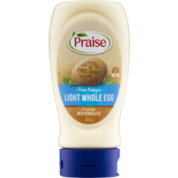 Photo of Praise Light Whole Egg Mayonnaise 380gm