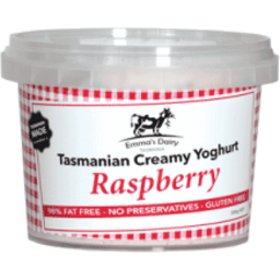 Photo of Emmas Dairy Yogurt Raspberry Tas Creamy 500gm