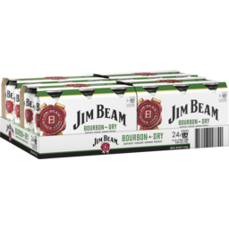 Photo of Jim Beam White & Dry Can Case