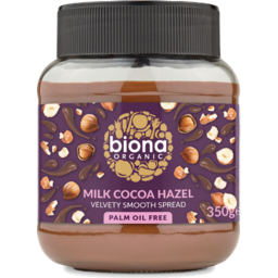 Photo of Biona Organic Spread - Milk Cocoa Hazel