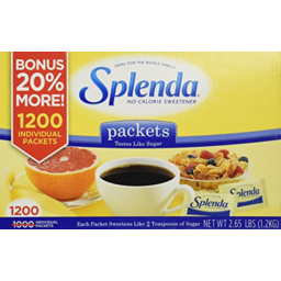 Photo of Splenda