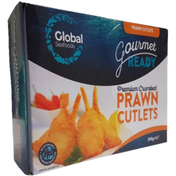 Photo of Global Prawn Cutlets Crumbed 500gm
