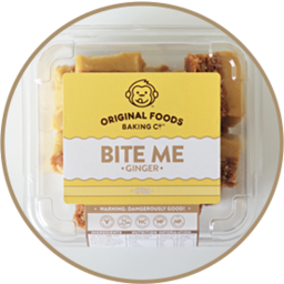 Photo of Original Foods Bite Me Mini Bites Ginger 175g