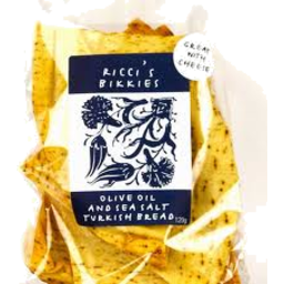 Photo of Riccis Olive Oil & Sea Salt Turkish Bread Crisps