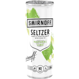 Photo of Smirnoff Seltzer Lime Can