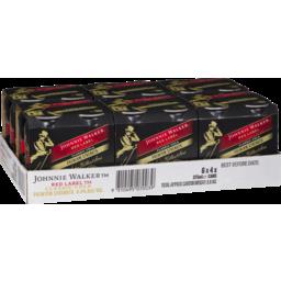Photo of Johnnie Walker & Cola Premium 6.5% Cans