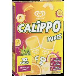 Photo of Calippo Mini Water Ice Tropical 10 Pack 575ml
