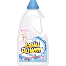 Photo of Cold Power Sensitive Pure Clean, Liquid Laundry Detergent, 2l