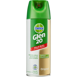 Photo of Dettol Glen 20 Disinfectant Spray Original Aerosol Eliminate Odour 300gm