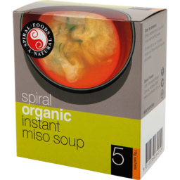 Photo of Spiral Foods Instant Miso Soup x 5