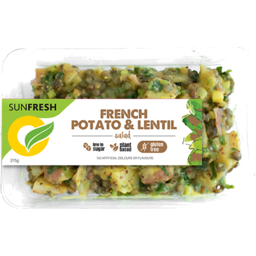 Photo of Sunfresh Salad Potato & Lentil 275gm