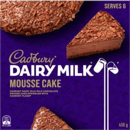 Photo of Cadbury Dairy Milk Mousse Cake 450g