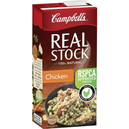 Photo of Campbell's Real Stock Chicken Stock 1l