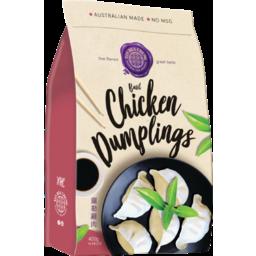 Photo of Xin Hua Cheng Frozen Dumplings – Basil Chicken (16 pieces)