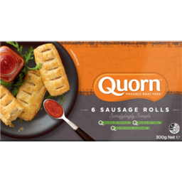 Photo of Quorn Meat Free Sausage Rolls 6 Pack 300g