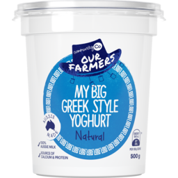 Photo of Community Co Greek Yoghurt 500g