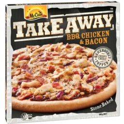 Photo of Mccain BBQ Chicken & Bacon Takeaway Pizza