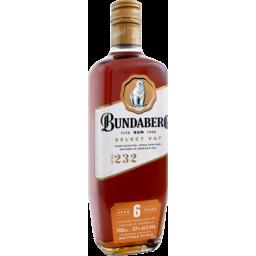 Photo of Bundaberg Select Vat 6 Year Old Rum 700ml