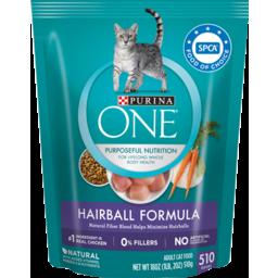 Photo of Purina One Hairball Formula Pet Food Cat 510g