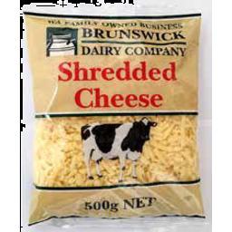 Photo of Brunswick Shredded Cheddar 500g