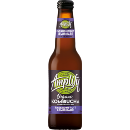Photo of Amplify Organic Kombucha Passionfruit Lime