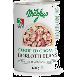 Photo of Manfuso - Borlotti Beans Cert Org - 400g (Clone)