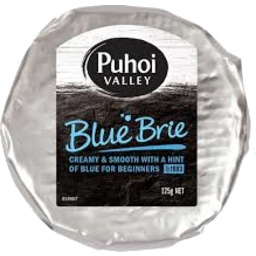 Photo of Puhoi Blue Brie 125g
