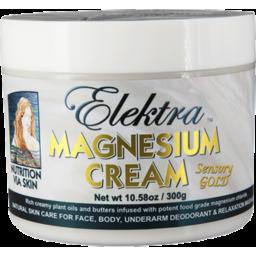 Photo of Elektra Magnesium Cream - Sensory Gold 300g
