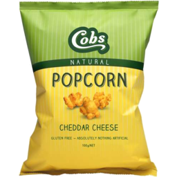 Photo of Cobs Natural Popcorn Cheese 100g