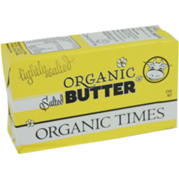 Photo of Organic Times - Butter - Salted - 250g