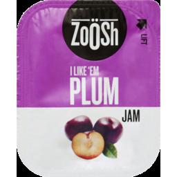 Photo of Zoosh Plum Jam Single Serve 13g