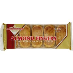 Photo of Dutch Bakehouse Almond Fingers 275gm