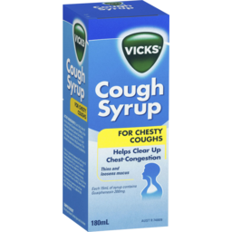 Photo of Vicks Cough Syrup For Chesty Coughs 180ml