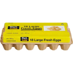 Photo of Black And Gold Cage Eggs Large 18pk 900g