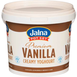 Photo of Jalna Yoghurt Premium Vanilla 170g