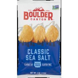 Photo of Boulder Canyon Classic Sea Salt Chips 142g