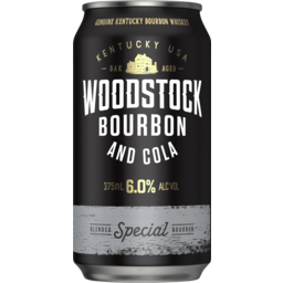 Photo of Woodstock & Cola 6% Can