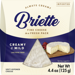 Photo of Briette Creamy & Mild 125g