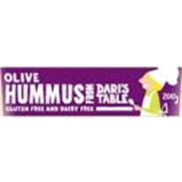 Photo of Dari Hummus Olive 200g