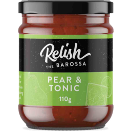 Photo of Relish the Barossa Pear and Tonic Paste 110g