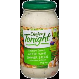 Photo of Chicken Tonight White Wine Simmer Sauce 475g