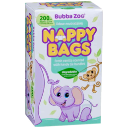 Photo of Bubbazoo Nappy Bag 200pk