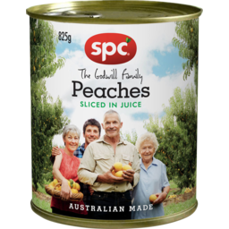 Photo of Spc Peaches Sliced In Juice 825g