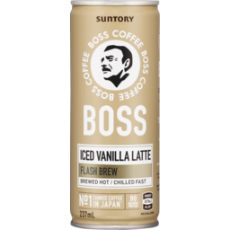 Photo of Suntory Boss Coffee Iced Vanilla Latte 237ml